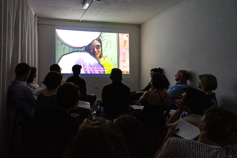 Residency 11:11 with Erika Roux, Film Screening and Reading