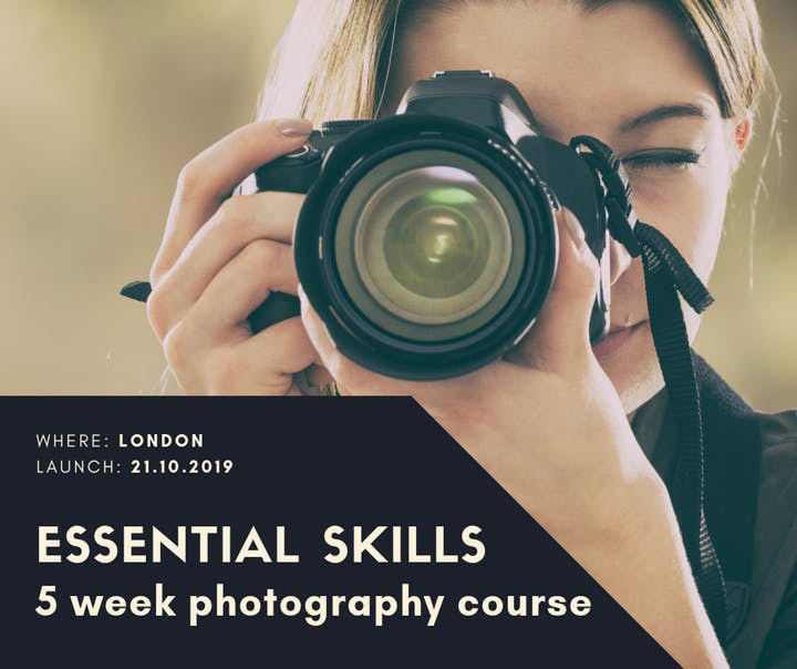 5 Week Photography Course: Essential Skills